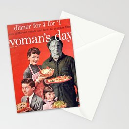 Michael Myers as Good Father Stationery Cards