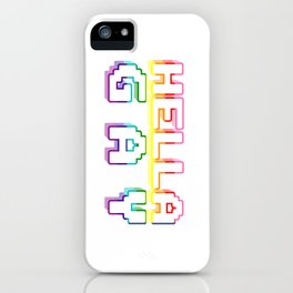 hella gay iPhone Case