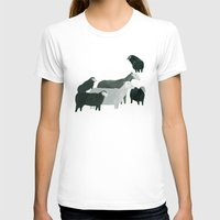 sheep T-shirts featuring Sheep by Yuliya