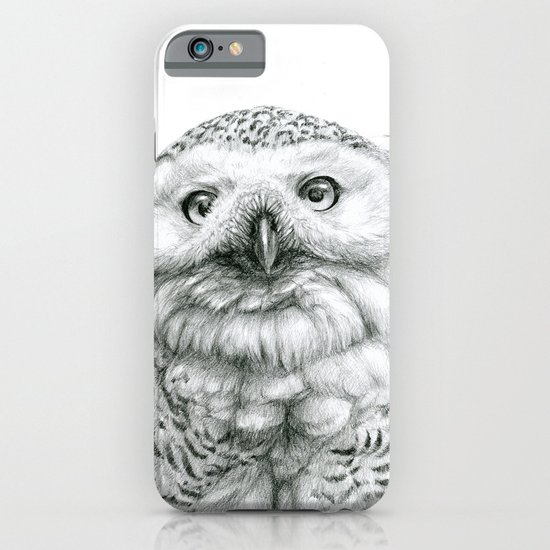 Snowy Owl (Bubo scandiacus) iPhone & iPod Case