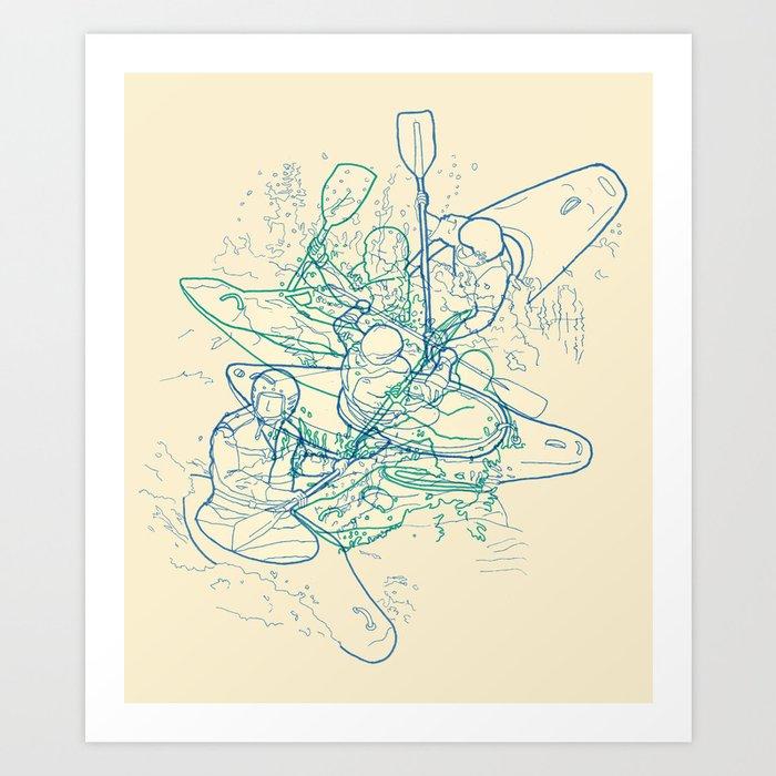 QAYAQ Art Print