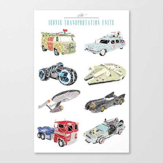 The Iconic Transportation Units Canvas Print