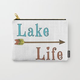 Lake Life - Summer Camp Camping Holiday Vacation Gift Carry-All Pouch