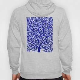 Fan Coral – Navy Hoody