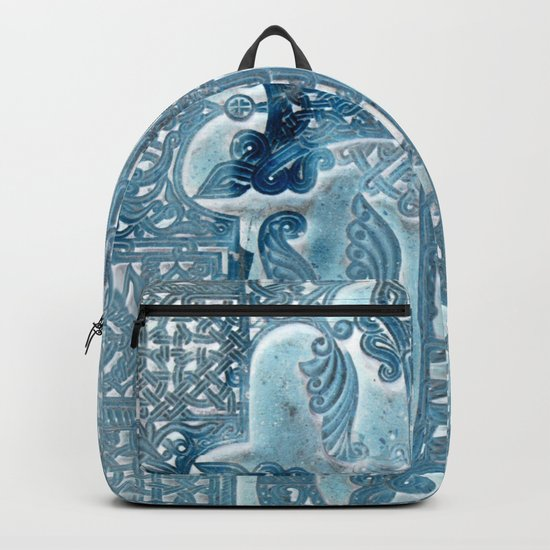 Celtic Blue - JUSTART © Backpack