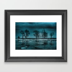 Distorted Reflections Framed Art Print