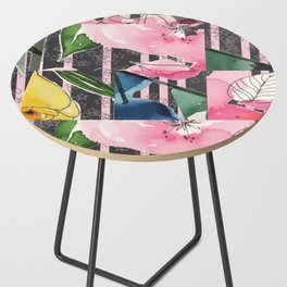 Floral Clash Side Table