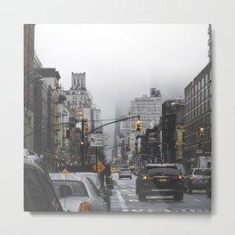 New York City Street Metal Print