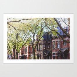 Pretty Buildings in Chicago Art Print