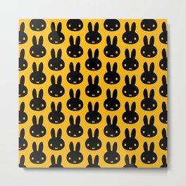 bunnies everywhere ultra pattern Metal Print