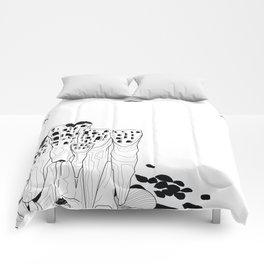 Hundertwasser's Teeth Comforters