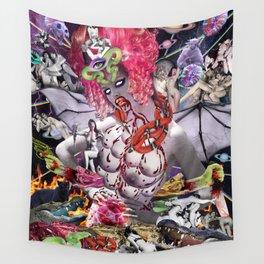 Ms. Ayahuasca de Pompadour Wall Tapestry