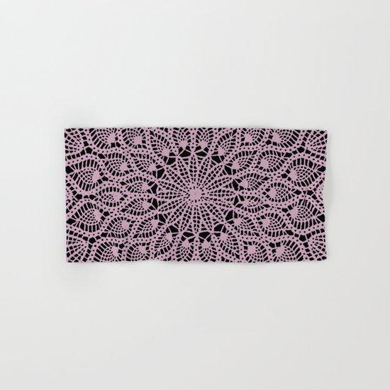 Delicate Pink Hand & Bath Towel