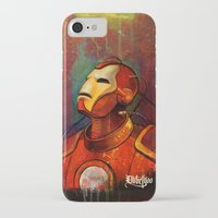 iron maiden iPhone & iPod Cases featuring Iron by DUBELYOO