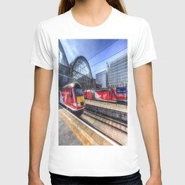 Kings Cross London Trains T-shirt