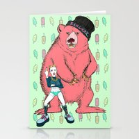 miley cyrus Stationery Cards featuring Miley Cyrus by Lizz Buma