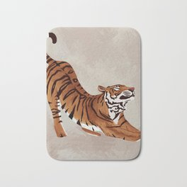 Tiger Stretch Bath Mat