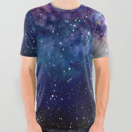 Milky Way All Over Graphic Tee