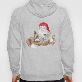The gnome and his friend the fox - Christmas Hoody
