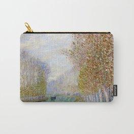 River Seine, Autumn, Paris, France by Francis Picabia Carry-All Pouch