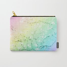 Van Gogh Almond Blossoms : Pastel Rainbows Carry-All Pouch