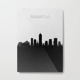 City Skylines: Indianapolis Metal Print