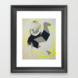 student Framed Art Print