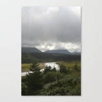 scotland Canvas Prints featuring Scotland by K.MiedemaPhotography
