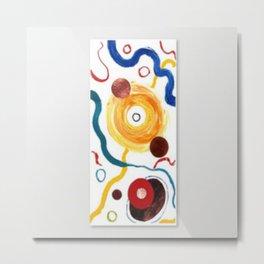 Planets  by Kay Lipton Metal Print