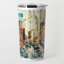 Winter in Chinatown - New York Travel Mug