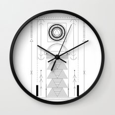 cirquit blank Wall Clock