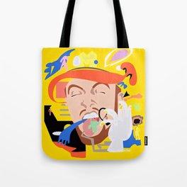 MAC MILLER---Face Art Tote Bag