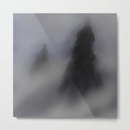 Foggy Days Metal Print