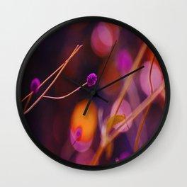 Retro Nature Art Wall Clock