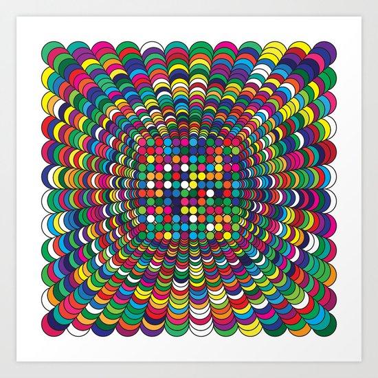 Focus Geometric Art Print. Art Print