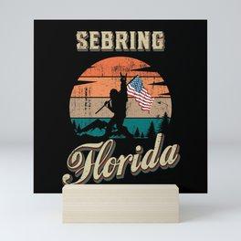Sebring Florida Mini Art Print