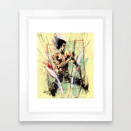 THE DRAGON Framed Art Print