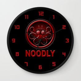 Noodly Wall Clock