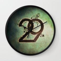 29 Wall Clock
