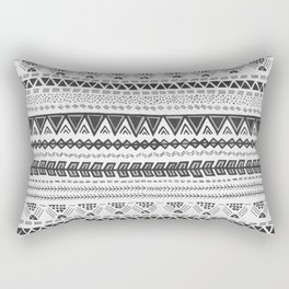 Dark aztec Rectangular Pillow