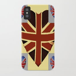 I Heart Great Britain. iPhone Case