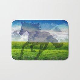 Horse fantasy Bath Mat
