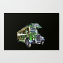 Vintage Bus Canvas Print