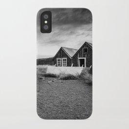 Iceland Shacks iPhone Case