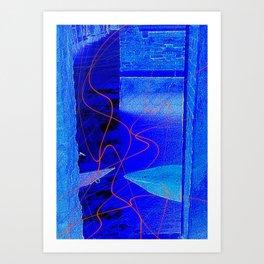 Midnight Dalliance Art Print