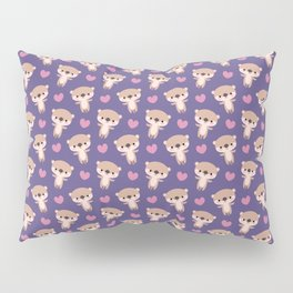 Kawaii otters Pillow Sham