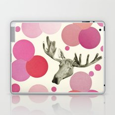 Strawberry Moose Laptop & iPad Skin