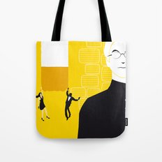 Tmorrow Never Dies Tote Bag