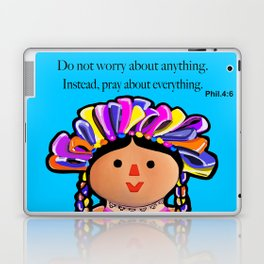Phil.4:6 Do Not Worry Doll Laptop & iPad Skin