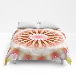Sparkley Flower Wheel Comforters